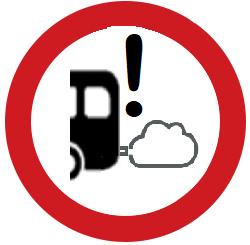 Neyðarúrgangur mengunaráætlana logo urbanaccesessregulations.eu