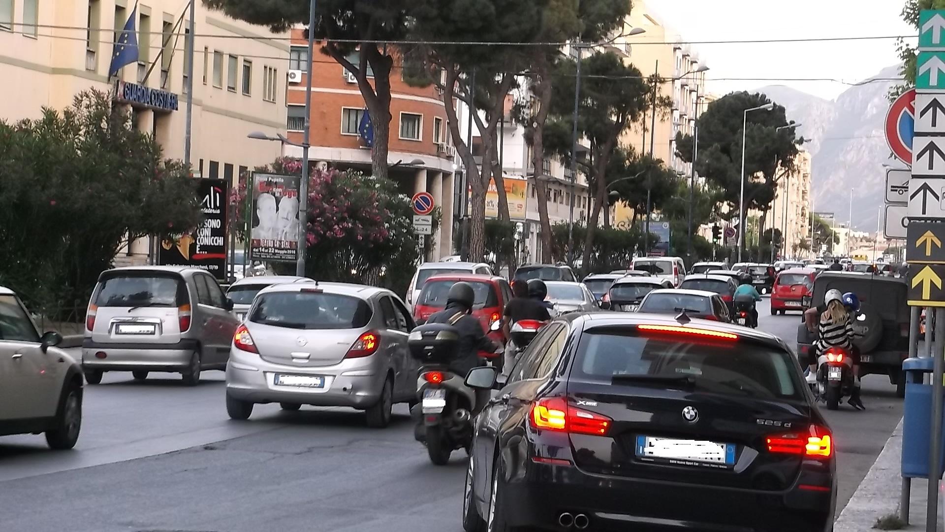 la congestión del tráfico