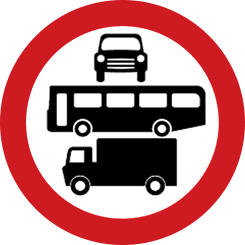 Access Regulation traffic restriction