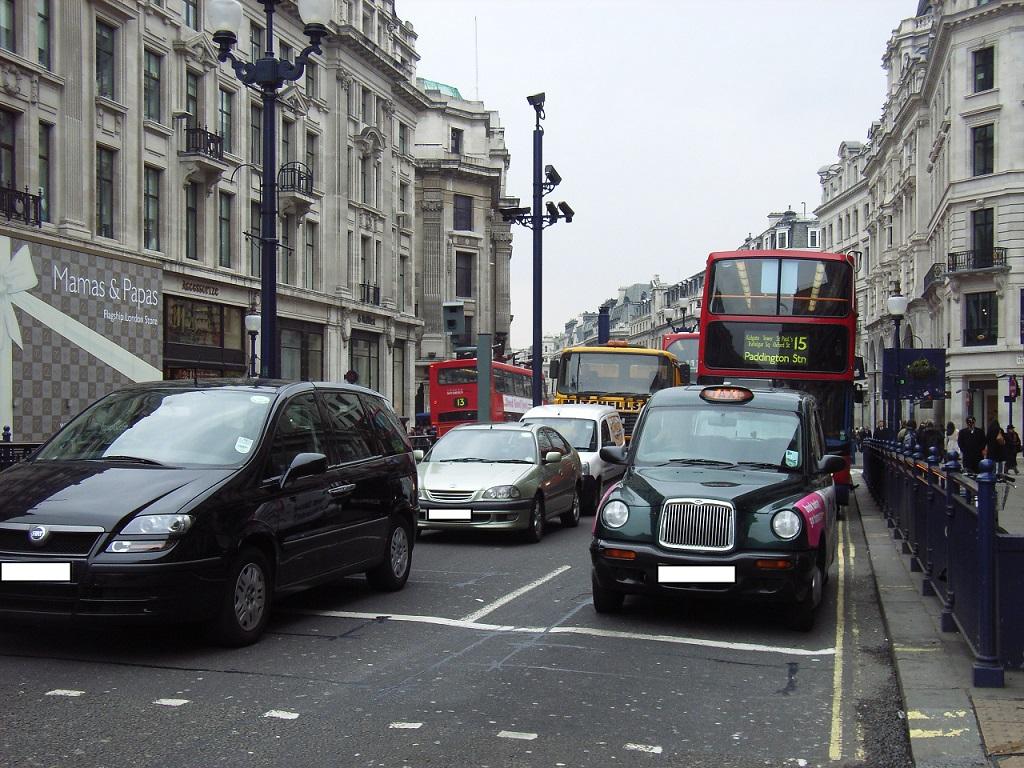 Лондон Улица urbanaccessregulations.eu