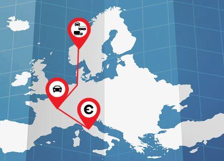 Planificateur d'itinéraire pour la réglementation d'accès, zones à faibles émissions