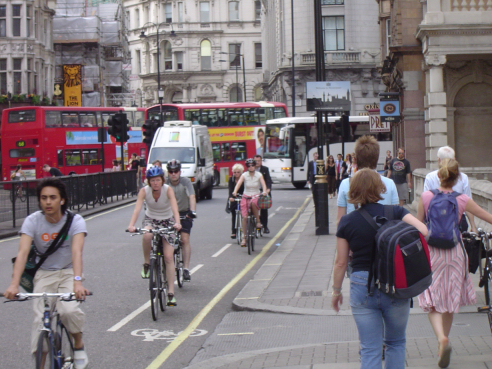 Nachhaltiger Verkehr Verkehrsszene