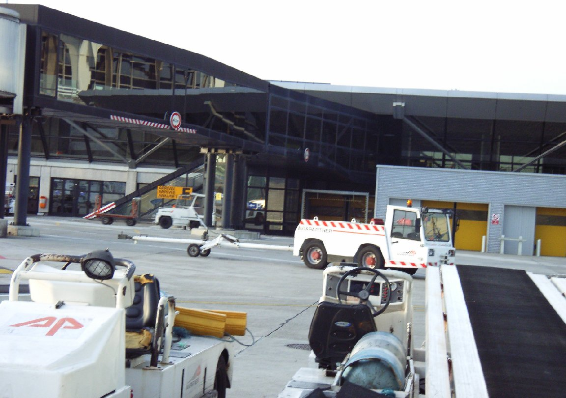 Airside service vehicles airport