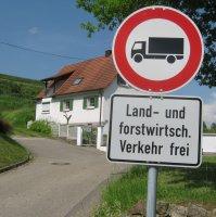 landbrugs- og skovbrugskøretøjer kun vejskilte