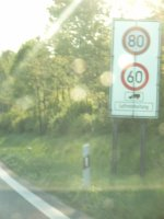 German air quality management speed limits