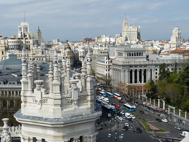 Madrid city photo pixabay