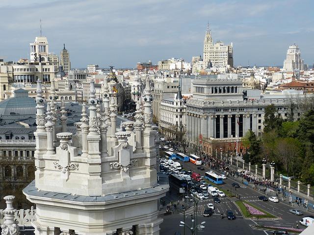 Madrid Stadt Foto Pixabay