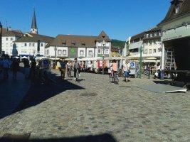 zona pedonale e mercato