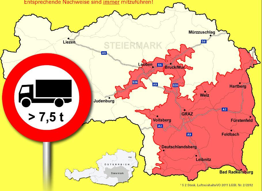 Léarscáil Steiermark