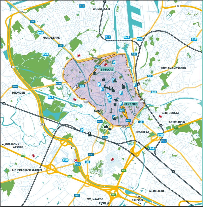 Gent mapie