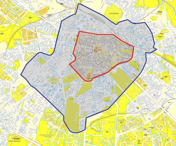 Mapa Sofia