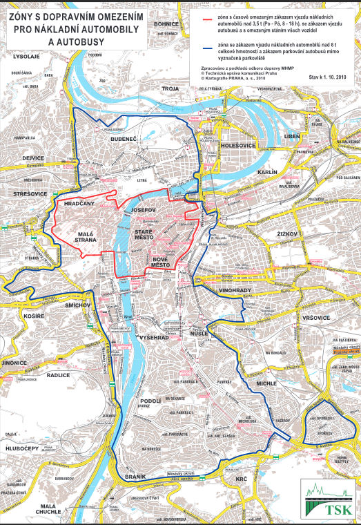 Praha permess mappa