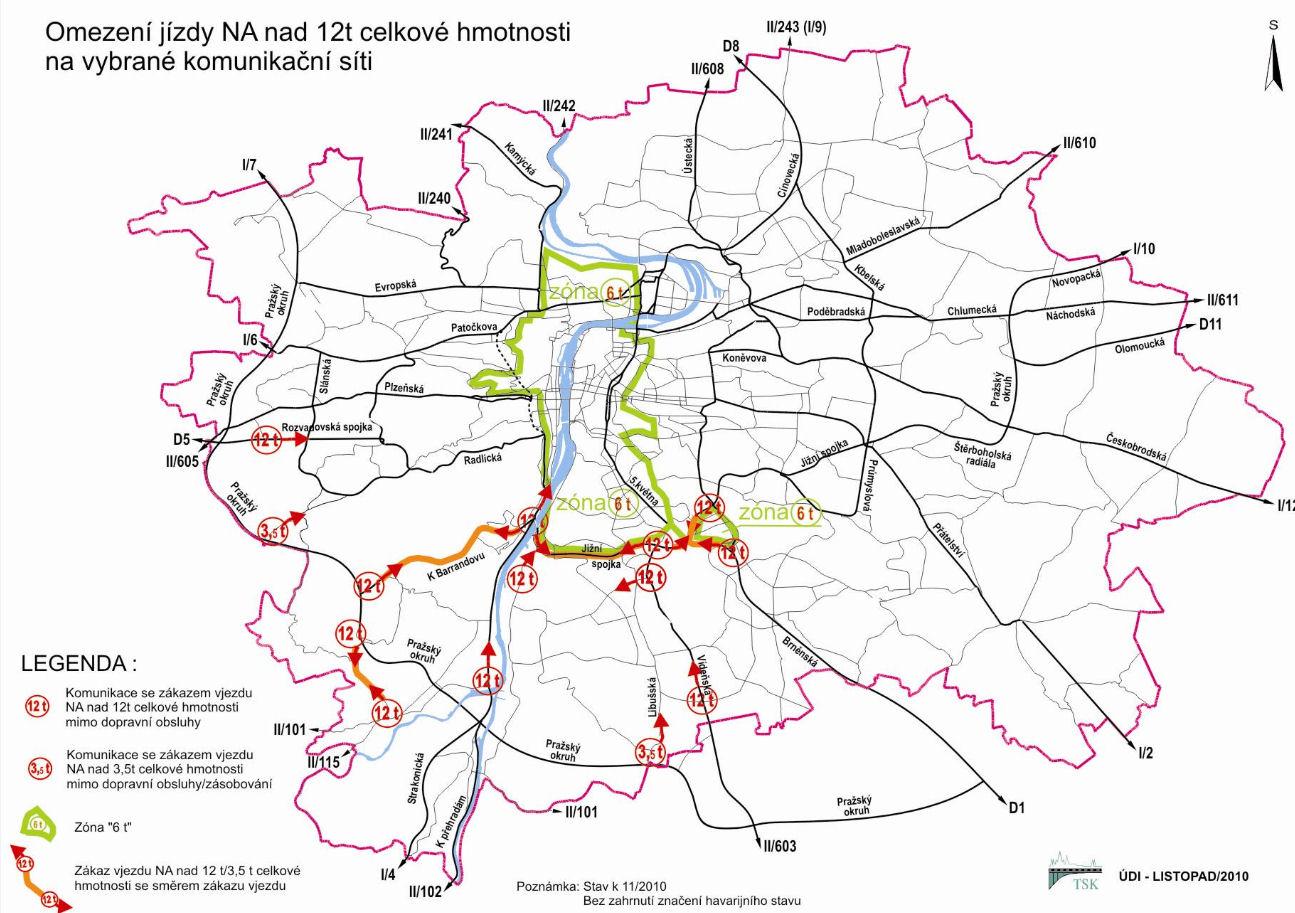 Praha maparen 12T