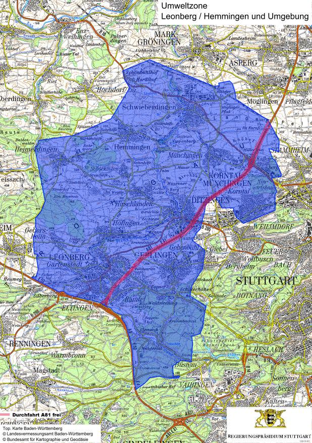 Karta Leonberg lez