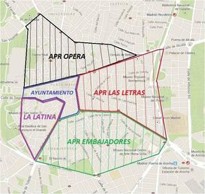 Madrid access restriction regulation map all areas