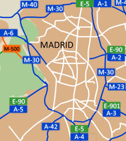 Madrid map weight restriction