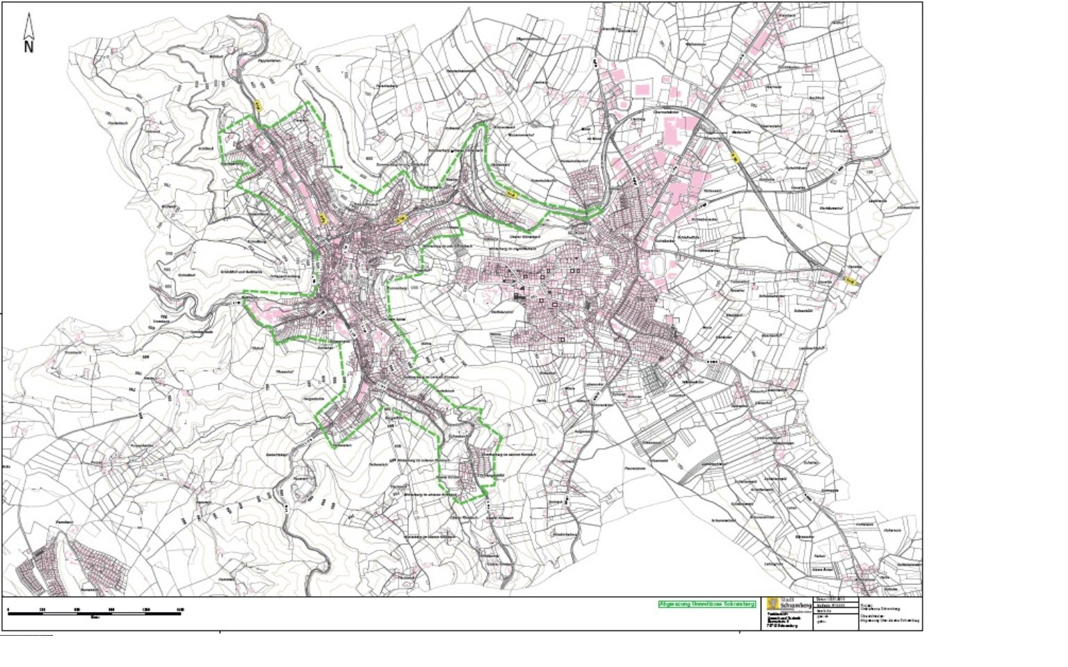 Schramberg žemėlapis