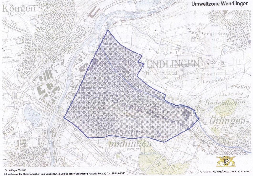 carte Wendlingen