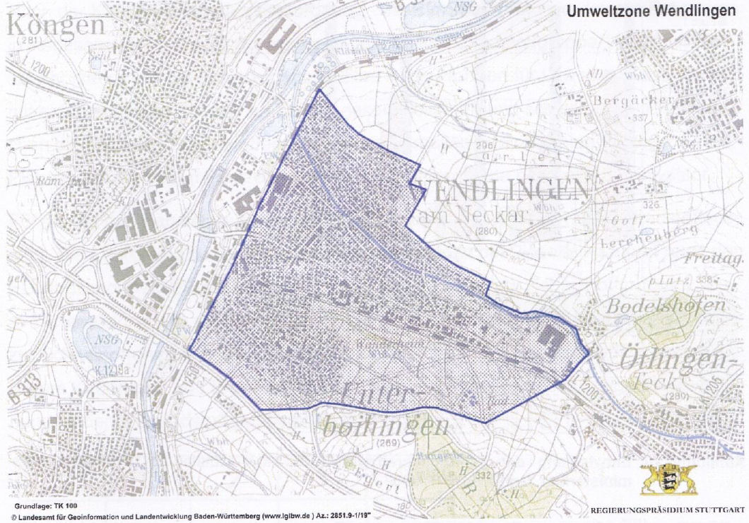 Wendlingen карту