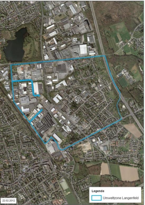 Langenfeld térképen