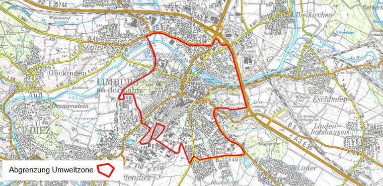 Limburg gets an Umweltzone LEZ