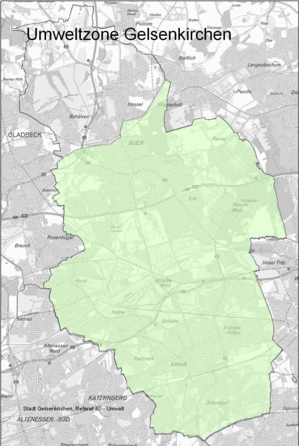 Gelsenkirchen Germany Map.Gelsenkirchen