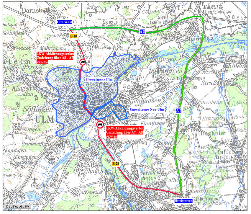 Ulm mappa AR