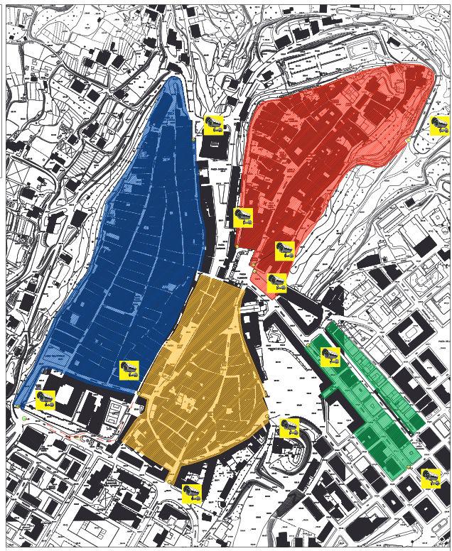 Mapa de Lanciano