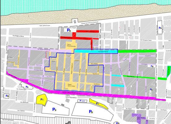 карта Пескары