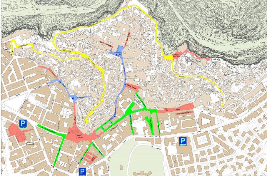 Mapa Matera