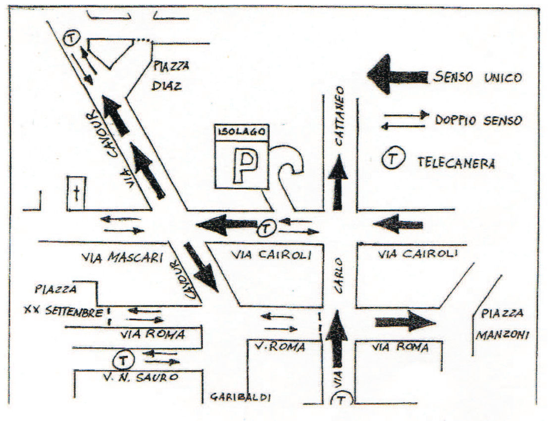 Lecco map