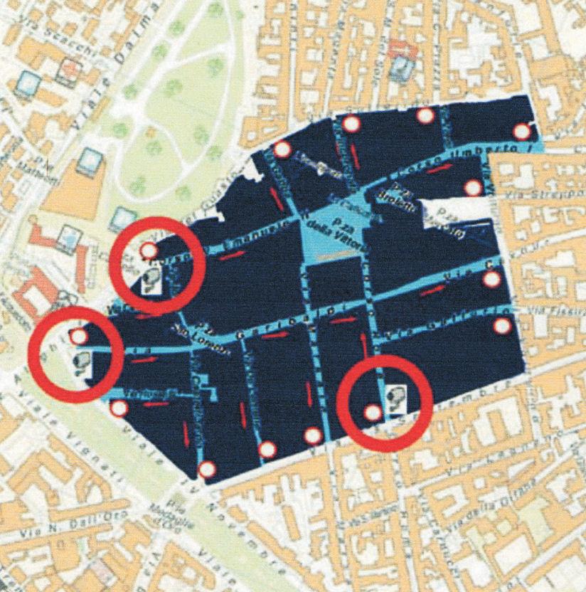 Lodi térképen
