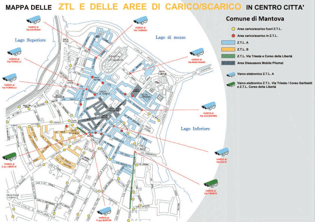 Mantova karte