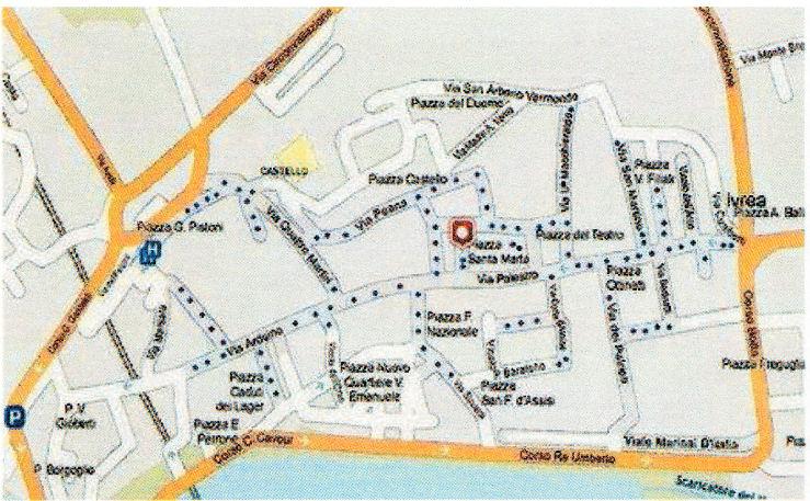Ivrea Karte