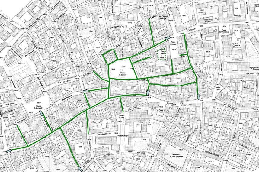 Vercelli мапа