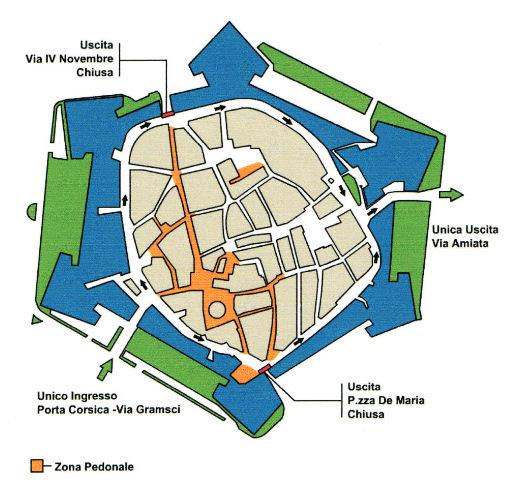 Grosseto karte