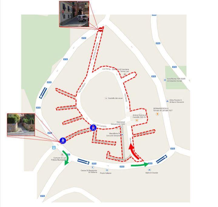 Lari kartalla