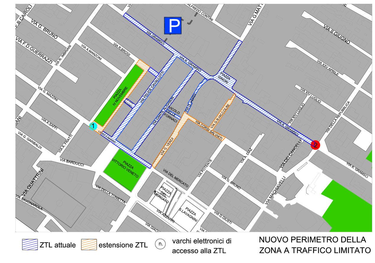 Mapa Sesto Fiorentino