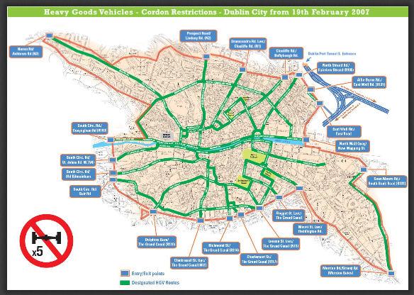 Mapa Dublin pequeno