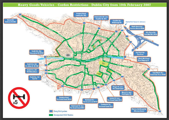 Dublin mapa txiki