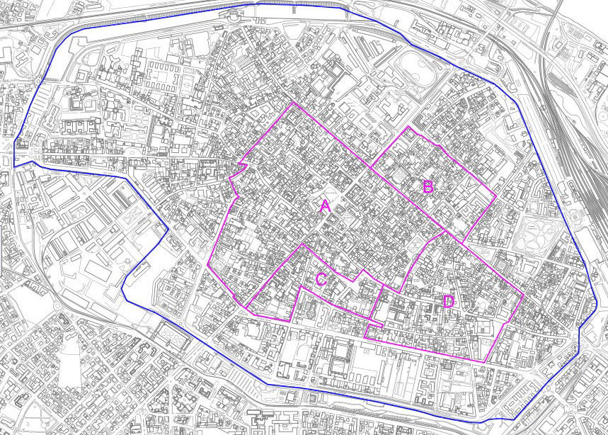Mapa Piacenza