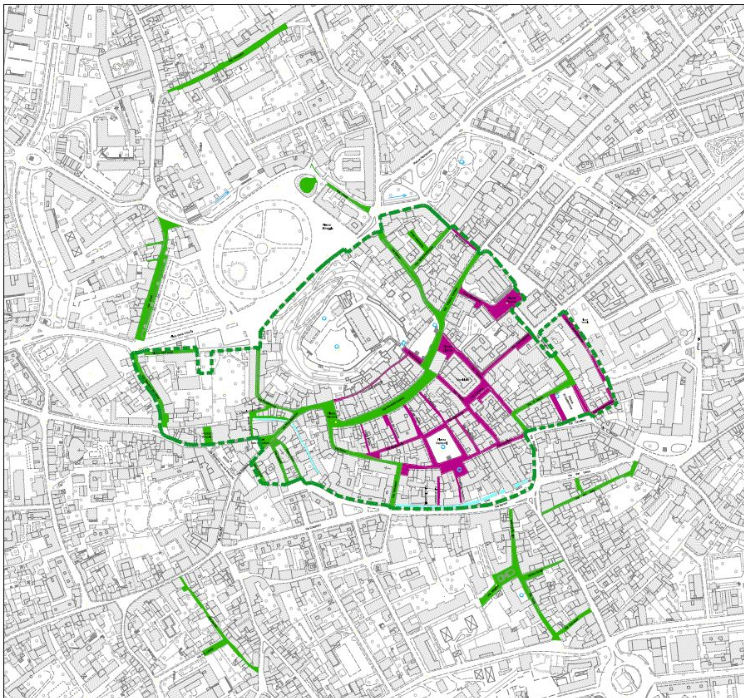 Map ZTL Udine