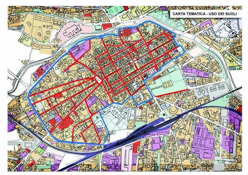 mapa borgomanero LEZ Límites