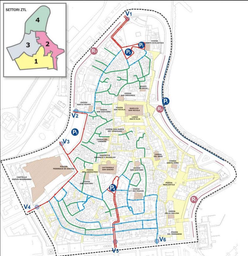 Juurdepääsueeskirjad Bari Puglia Itaalia