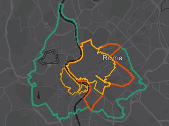 kaardi kohaletoimetamine ZTL-s Roomas