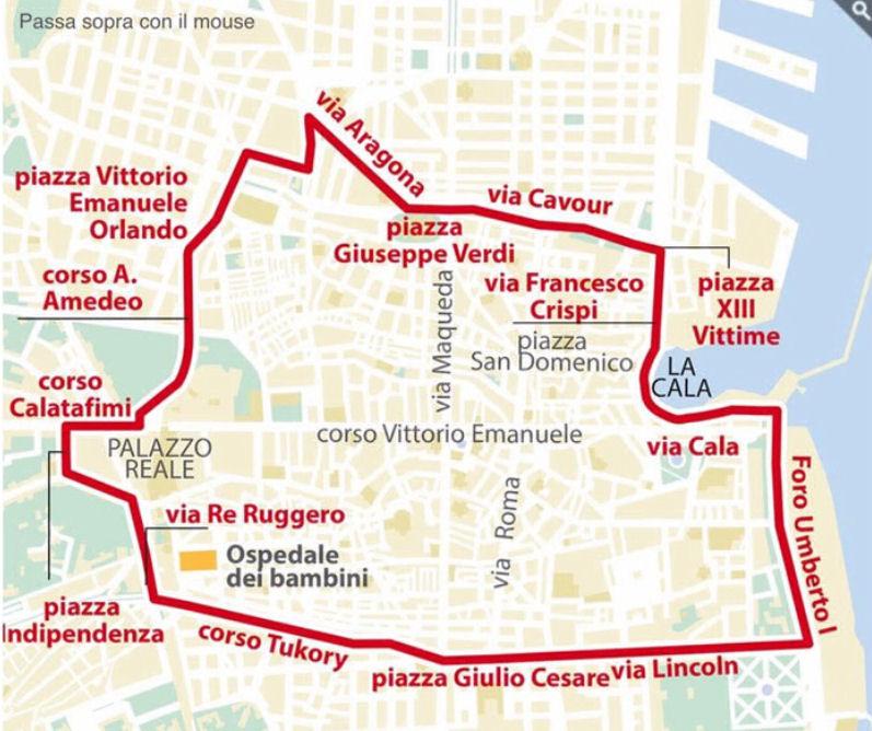 Palermo Karte