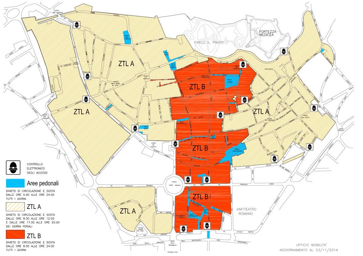 Арецо мапа
