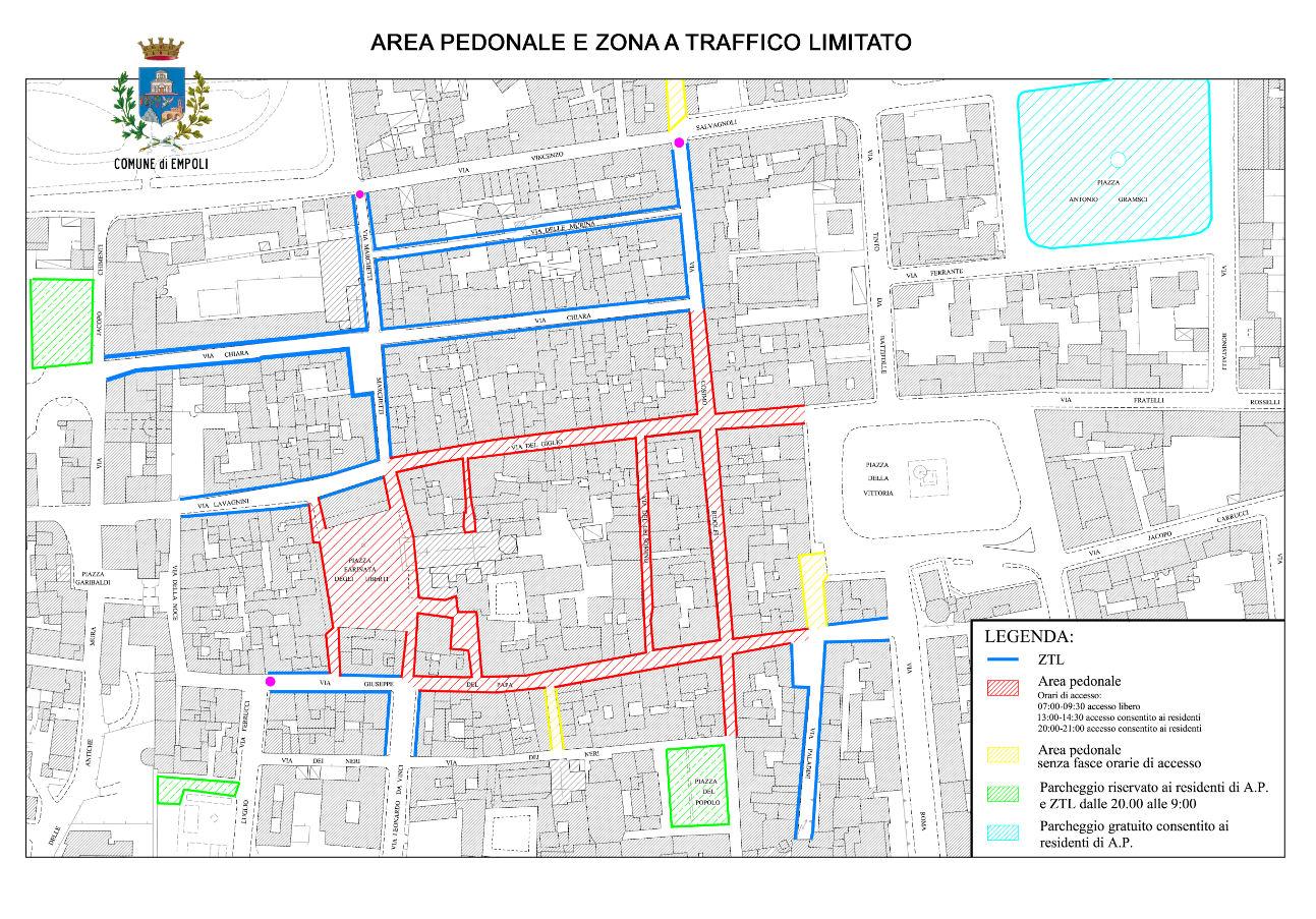 Mapa Empoli