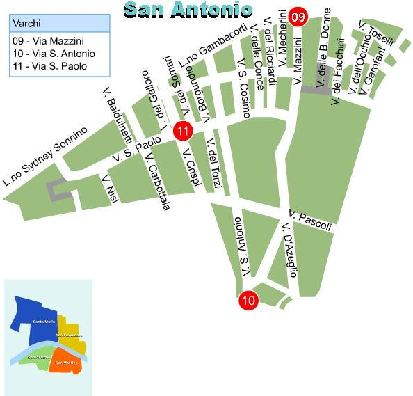 Zona C San Antonio