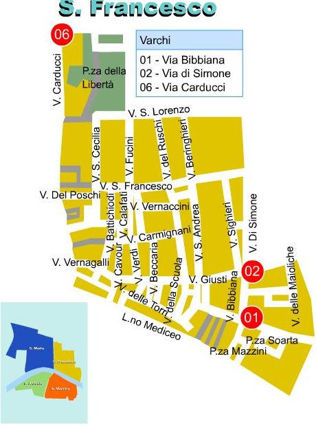 Zona A San Francesco